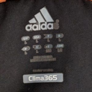 Adidas Clima 365 Mens Predator Jacket Black White